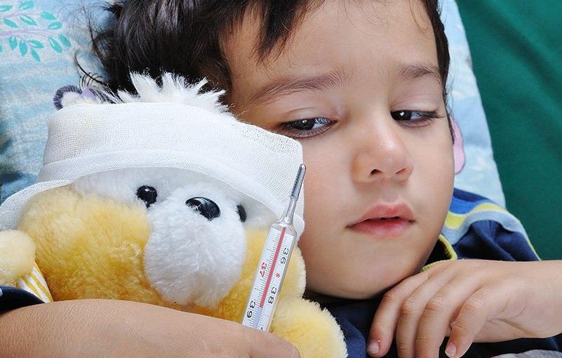 Ребенок заболел в отпуске