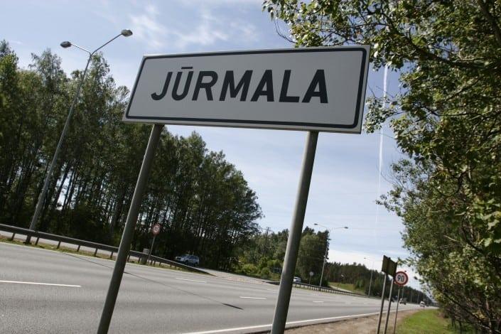 Въезд в Юрмалу