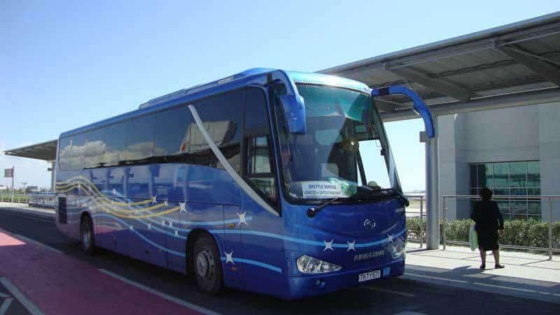 Так выглядят автобусы на Кипре