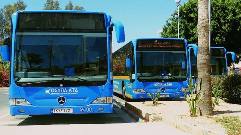 Автобус Ларнака - Айя-Напа