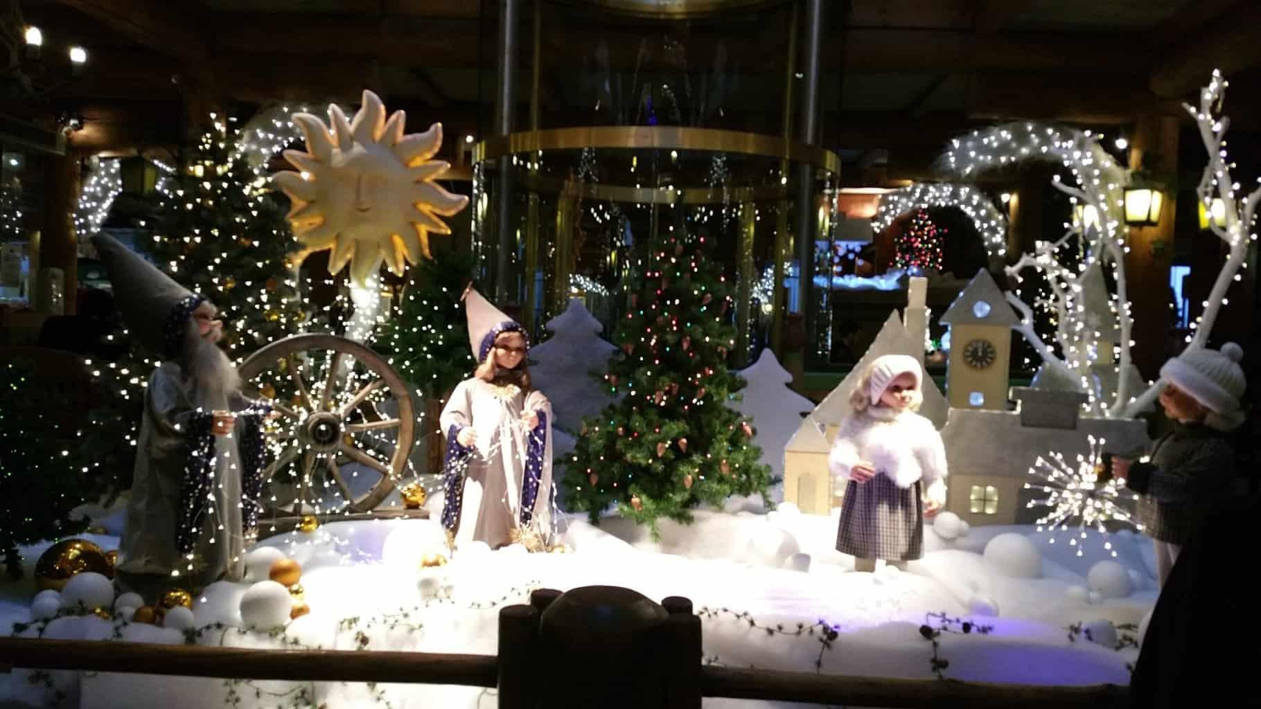 Интерьер в Лидо на рождество