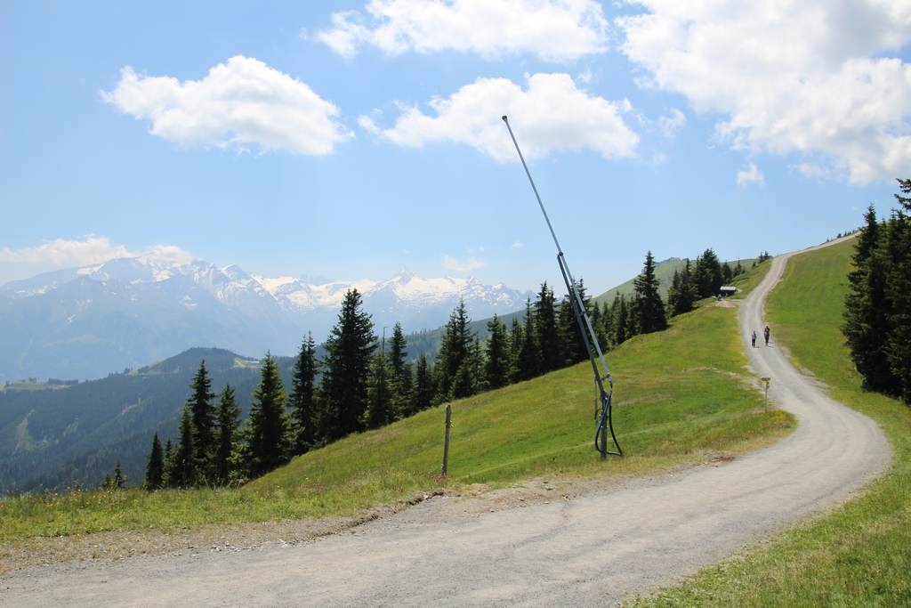 Пешеходные маршруты на горе Шмиттен