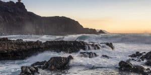Вид на маяк с океана