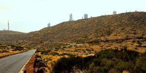 Дороги заповедника вокруг обсерватории