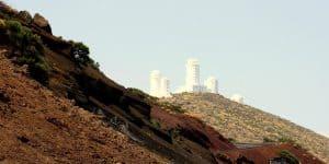 Дорогая рядом с обсерваторией