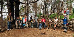 Группа во время экскурсии