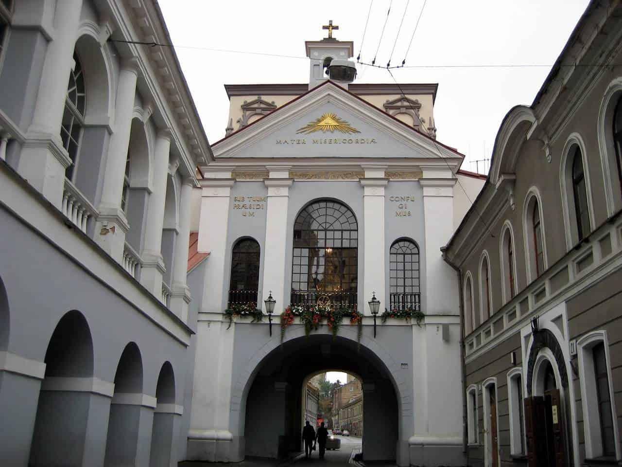 Вход в старый город Вильнюса