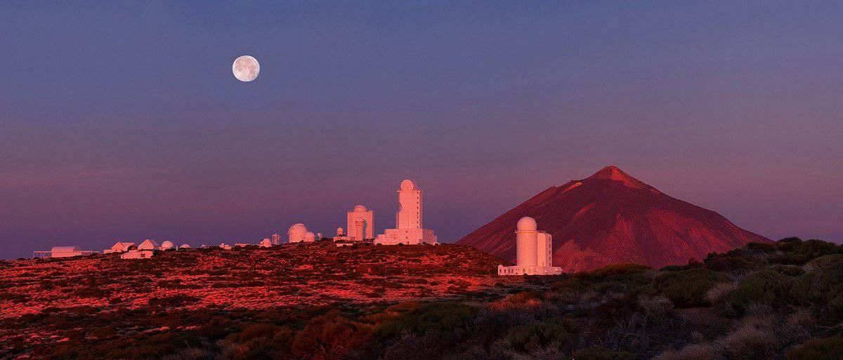 Закат в заповеднике и пейзажи обсерватории