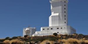 Одно из зданий обсерватории