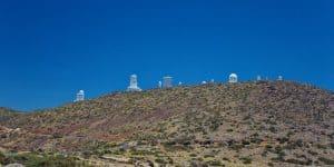 Обсерватория в заповеднике Тейде