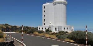 Закрытая территория обсерватории