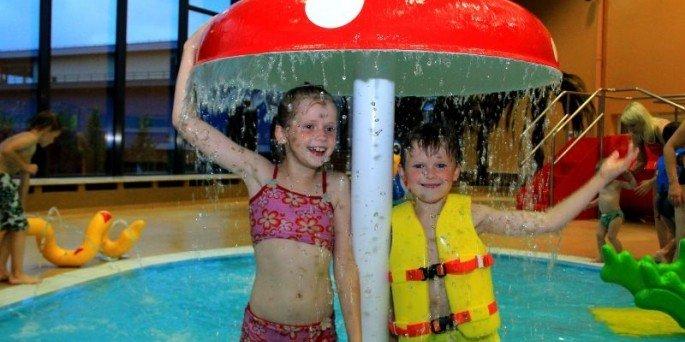Детская зона в парке водных развлечений