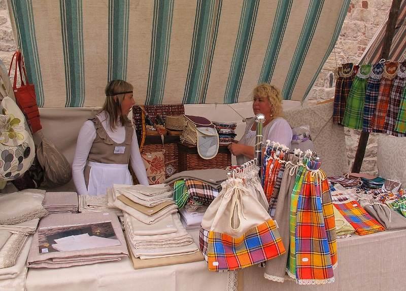 Текстиль из Литвы