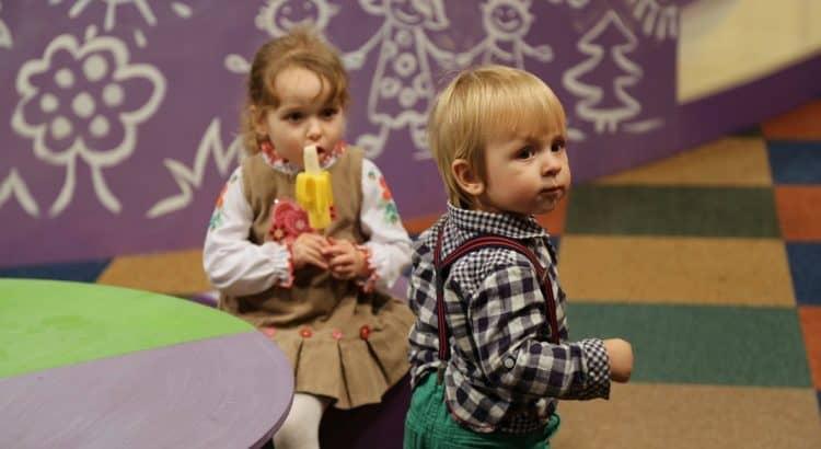 В Эстонии с ребенком