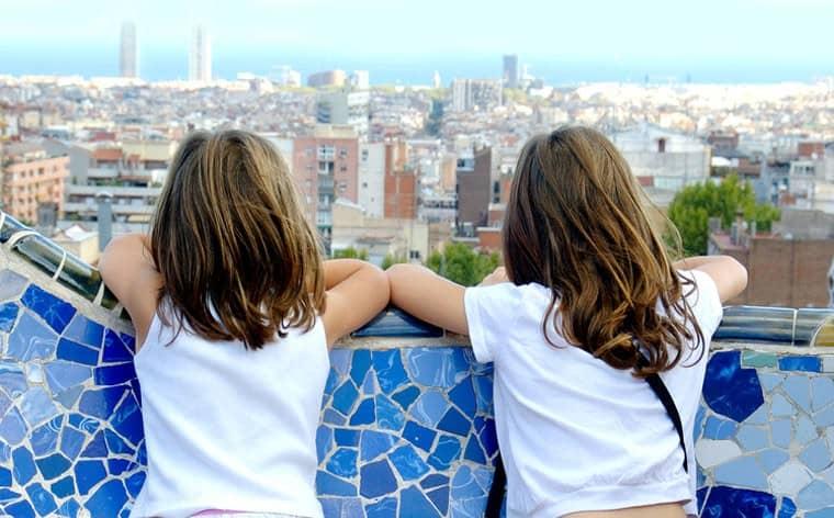 В Барселоне с детьми
