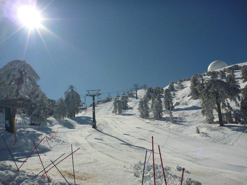 Гора Олимпос Кипр