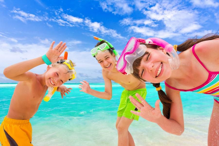 Летние каникулы картинка для детей
