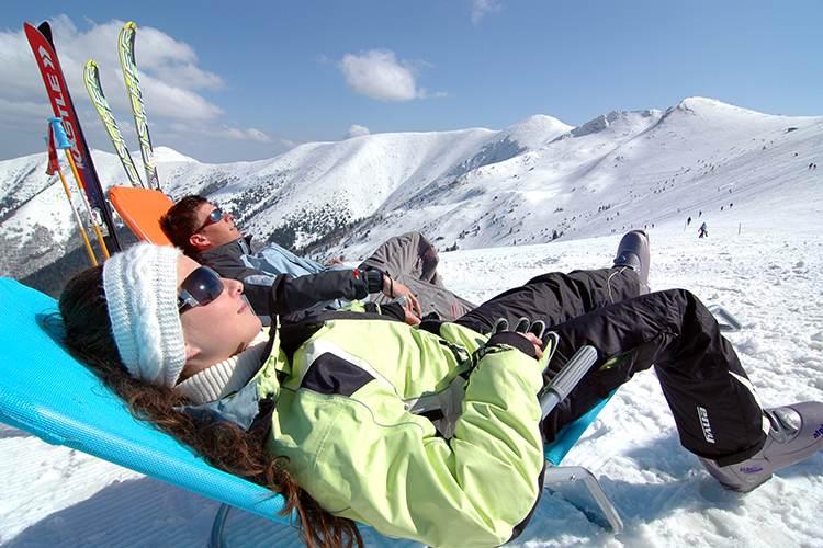 Отдых в горах под новый год