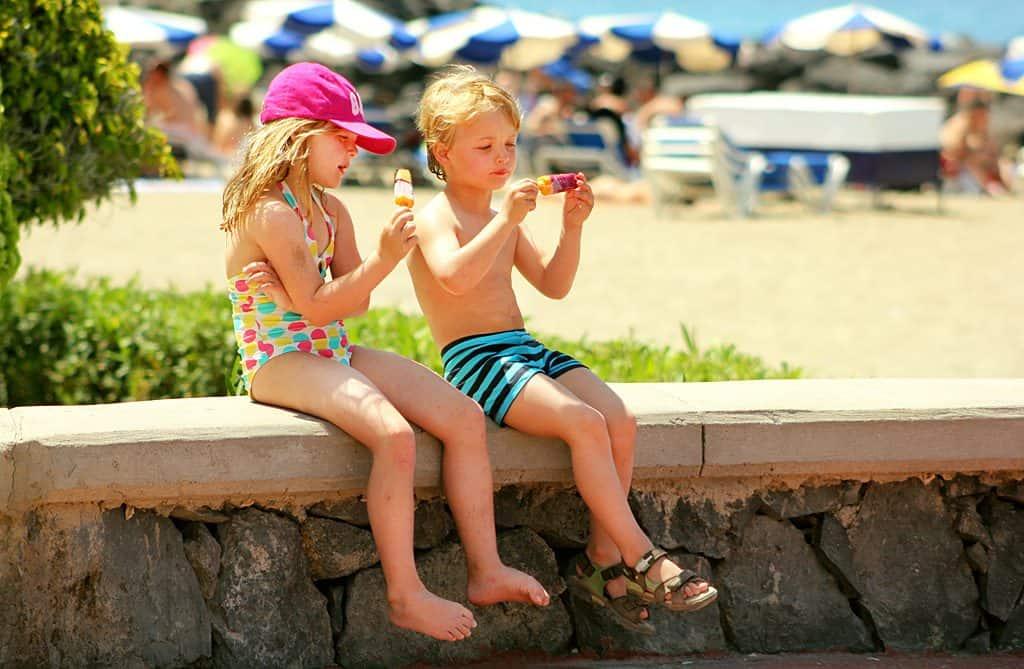 Дети на Тенерифе