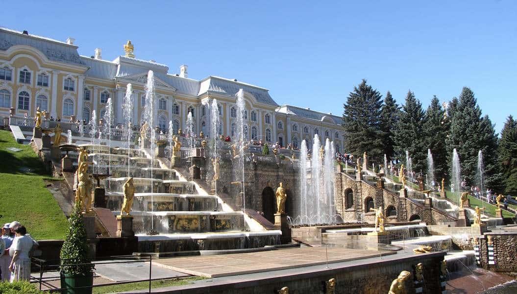 Фонтаны в Петергофе, Санкт-Петербург