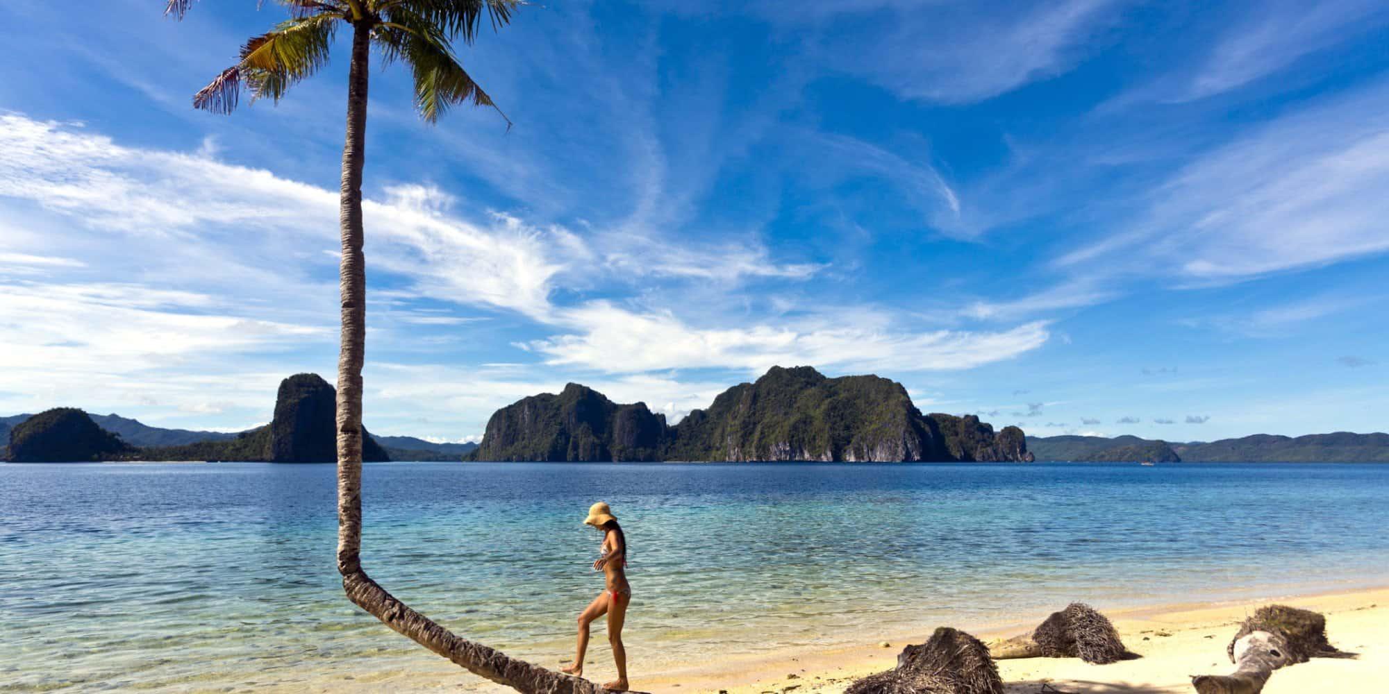 Филиппины пляж