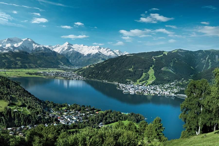 Почему бы не поехать в июле на австрийские озера в Альпах?