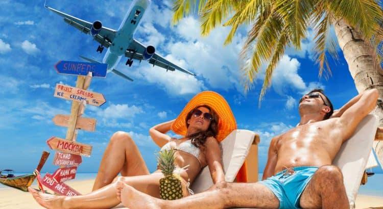 Пара, пляжный отдых в августе