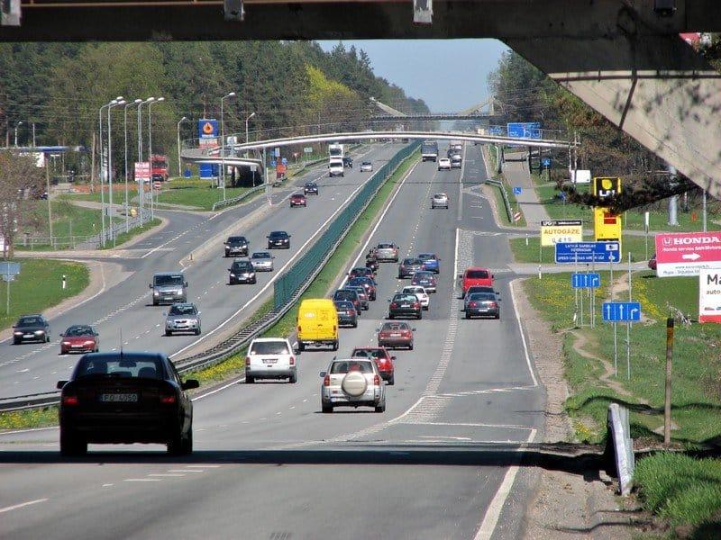 Дороги в Латвии