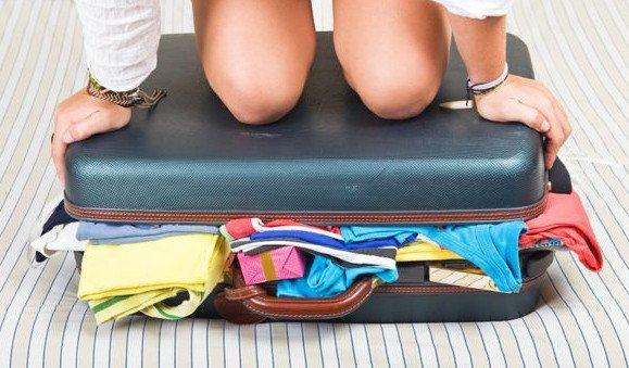 Вечная проблема: как засунуть весь список вещей в один чемодан?