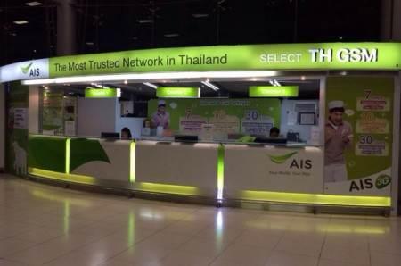 Покупка мобильной связи в аэропорту