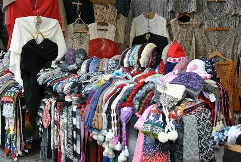 Вязанные сувениры Эстонии