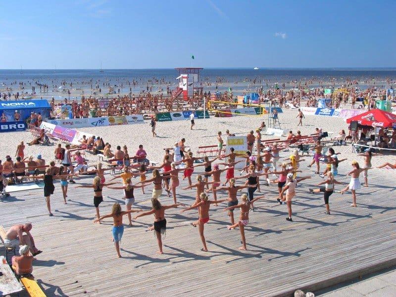 Пляж Пярну