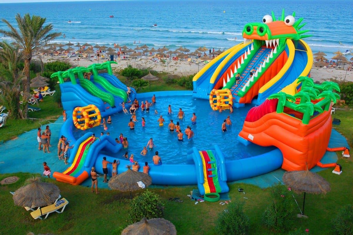 Детская зона в отеле Mahdia Beach