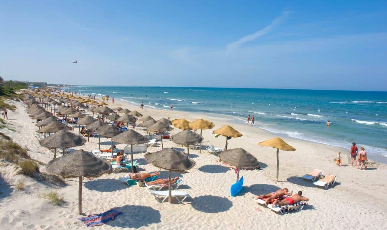 Пляж в Махдии