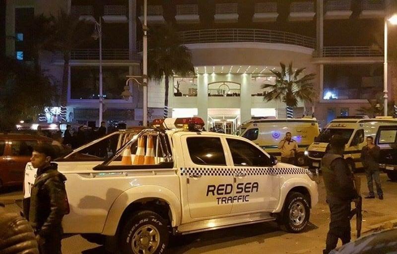 Нападение на отель в Хургаде