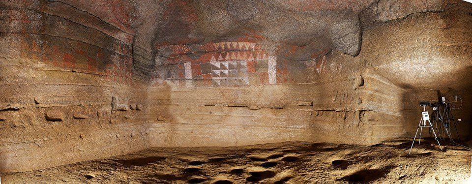 Пещера с наскальными рисунками