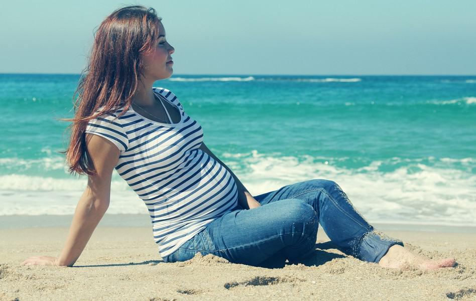 отдых на море беременным