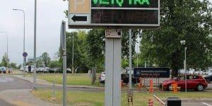 Информация о парковочных местах на платных стоянках