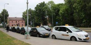 Дальняя стоянка такси