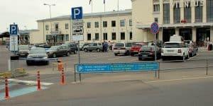 Бесплатная парковка в аэропорту Вильнюса