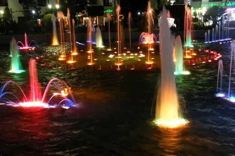 Поющий фонтан Сусса