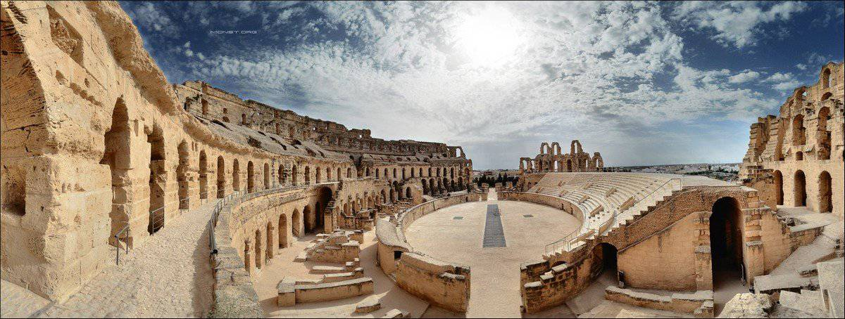 Древний Колизей