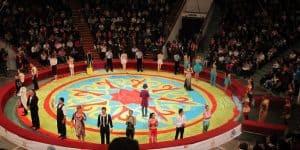 Актеры Рижского цирка