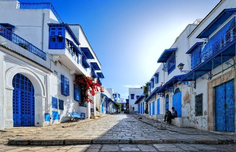Сиди Бу Саид в Тунисе