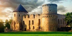 Замок в Цесис