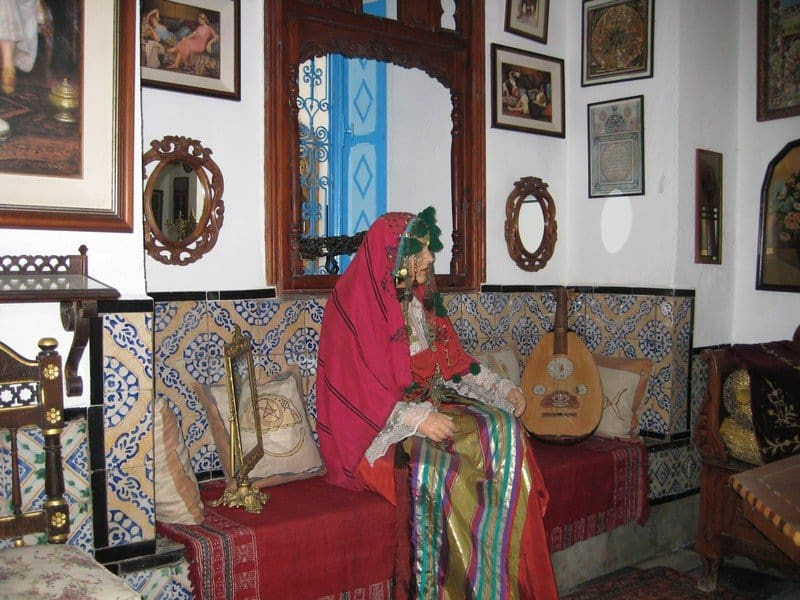 Traditional clothing museum