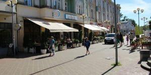 Кафе на улице Йомас