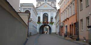 Ворота Зари в Вильнюсе