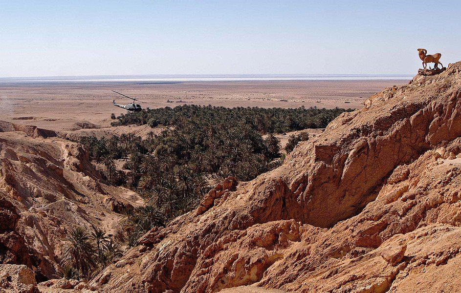 Атласские горы в Тунисе