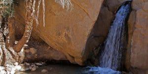 Водопад в горном оазисе